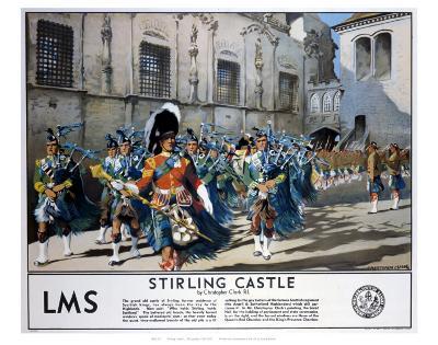 Stirling Castle LMS--Art Print