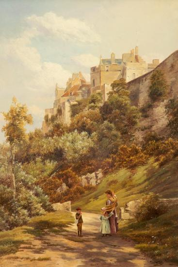 Stirling Castle-Theodore Hines-Giclee Print