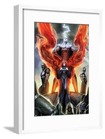 Realm of Kings Inhumans No.1 Cover: Medusa, Karnak and Gorgon