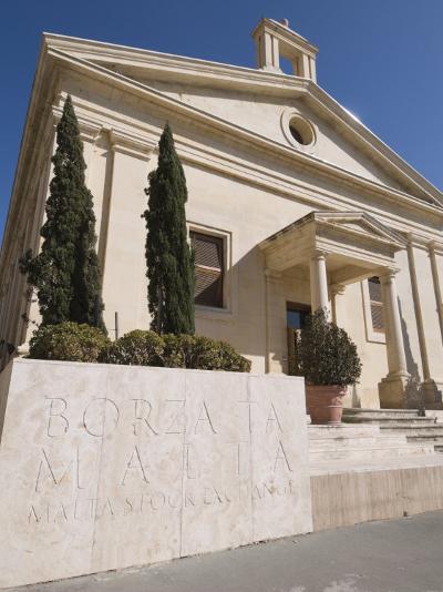 Stock Exchange, Valletta, Malta, Europe-Robert Harding-Photographic Print