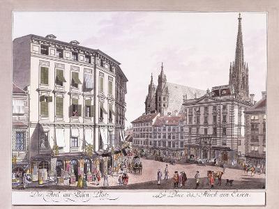 Stock-Im-Eisen-Platz, 1779-1792--Giclee Print