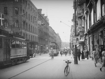 Stockholm Street--Photographic Print
