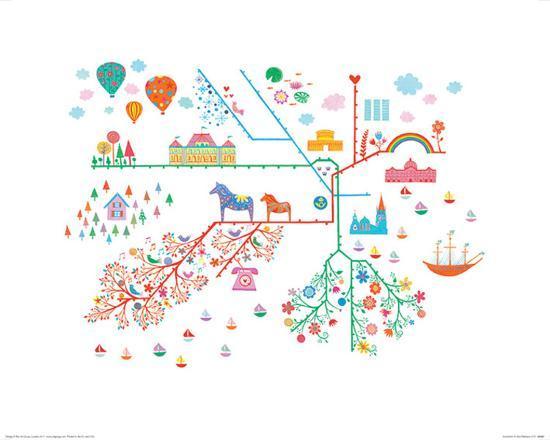Stockholm-Ian Winstanley-Art Print