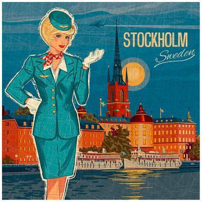 Stockholm-Bruno Pozzo-Art Print