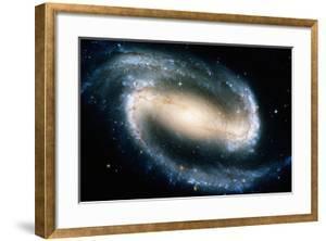 Barred Spiral Galaxy NGC 1300, Satellite View by Stocktrek