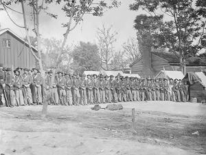 21st Michigan Infantry During the American Civil War by Stocktrek Images