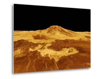 3D Perspective View of Maat Mons on Venus