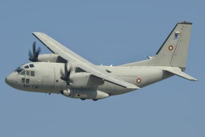 A Bulgarian Air Force C-27J Spartan in Flight over Bulgaria by Stocktrek Images