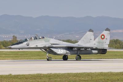 A Bulgarian Air Force Mig-29, Bulgaria by Stocktrek Images