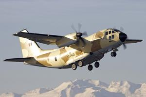 A Chadian Air Force C-27J Spartan Taking Off, Italy by Stocktrek Images
