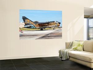A Custom Painted A-7 Corsair Ii of the Hellenic Air Force by Stocktrek Images