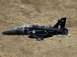 A Hawk T2 Jet Trainer Aircraft of the Royal Air Force by Stocktrek Images