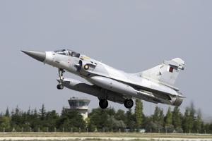 A Qatar Emiri Air Force Mirage 2000-5Eda/5Dda by Stocktrek Images