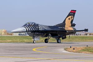 A Solo Turk F-16 of the Turkish Air Force by Stocktrek Images