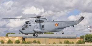 A Spanish Navy Sh-3D Helicopter by Stocktrek Images