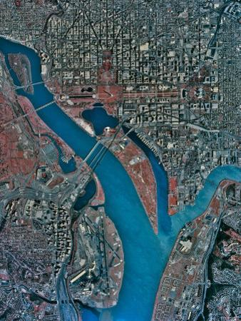 Aerial View of Washington Dc by Stocktrek Images