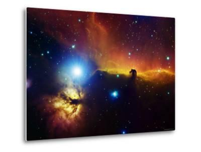 Alnitak Region in Orion (Flame Nebula NGC2024, Horsehead Nebula IC434)