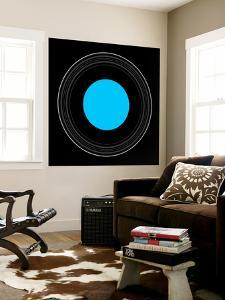 An Illustration Showing the Details of the Rings of Uranus by Stocktrek Images