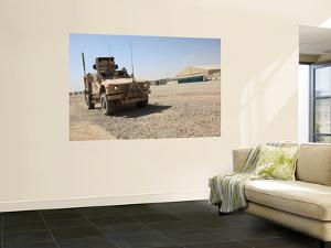 An Oshkosh M-Atv Sits Parked at Camp Leatherneck, Afghanistan by Stocktrek Images