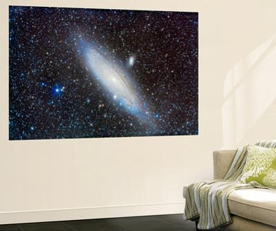Andromeda Galaxy with Companions by Stocktrek Images