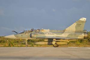 Brazilian Air Force Mirage 2000 at Natal Air Force Base, Brazil by Stocktrek Images
