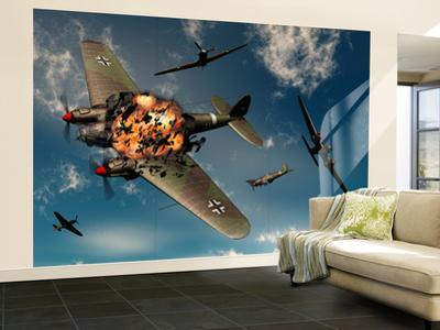 Beautiful Airplanes wall murals artwork for sale Photos and Prints