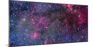 Bubble Nebula and Cave Nebula Mosaic by Stocktrek Images