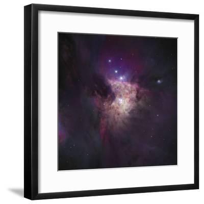 Center of the Orion Nebula (The Trapezium Cluster)