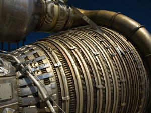 Close-Up View of a Rocket Engine by Stocktrek Images