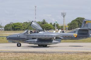Colombian Air Force A-37 Dragonfly at Natal Air Force Base, Brazil by Stocktrek Images