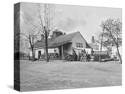 Commissary Headquarters, Rocky Face Ridge, Georgia, During the American Civil War