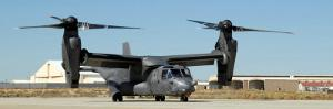 CV-22 Osprey Prepares for Take-Off by Stocktrek Images