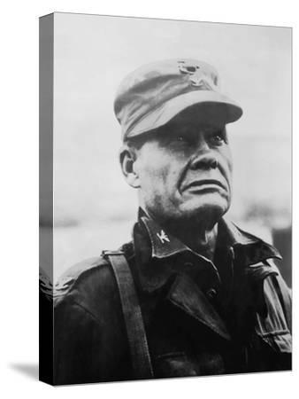 Digitally Restored Vector Portrait of General Lewis Chesty Puller