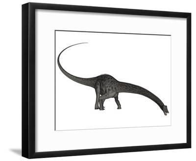 Diplodocus Dinosaur with Head Down