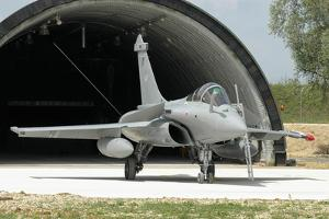 French Air Force Rafale C Fighter Plane by Stocktrek Images