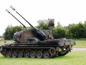 Gepard Anti-Aircraft Tank of the Belgian Army by Stocktrek Images