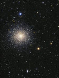 Great Globular Cluster in Hercules by Stocktrek Images