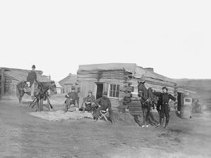 Headquarters of 11th Rhode Island Infantry During the American Civil War by Stocktrek Images