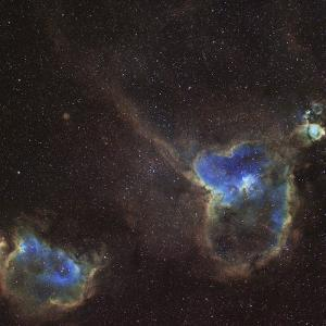 Heart and Soul Nebula by Stocktrek Images