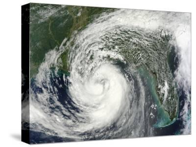 Hurricane Isaac in the Gulf of Mexico