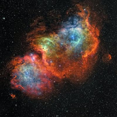 IC 1848, the Soul Nebula by Stocktrek Images