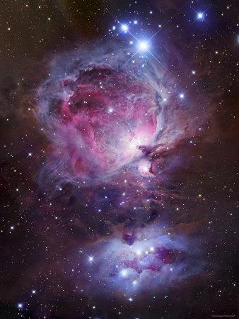 M42, the Orion Nebula (Top), and NGC 1977, a Reflection Nebula (Bottom)