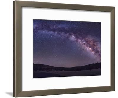 Milky Way Rises the McDonald Observatory Near Fort Davis, Texas