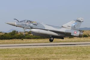 Mirage 2000C of the French Air Force Landing at Orange-Caritat Air Base, France by Stocktrek Images