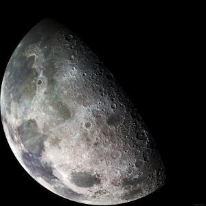 Moon by Stocktrek Images