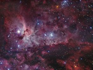 NGC 3372, the Eta Carinae Nebula by Stocktrek Images