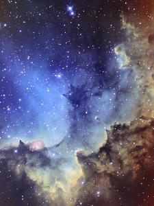 NGC 7380 Emission Nebula in Cepheus by Stocktrek Images