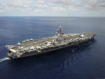 Nimitz-class Aircraft Carrier USS Dwight D. Eisenhower by Stocktrek Images