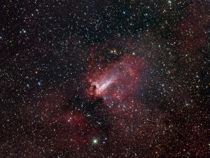 Omega Nebula by Stocktrek Images