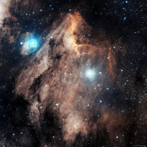 Pelican Nebula by Stocktrek Images